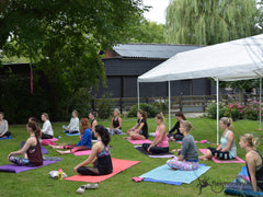 groepsworkshop pilates op het flexmonkey summer event