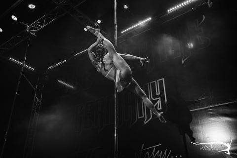 Ariane van der Vegte pole dancing, pole fitness, pole-dancing matches polewear pole competition
