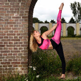 Flexmonkey leggings - kindermaat Pink - Flexmonkey Polewear