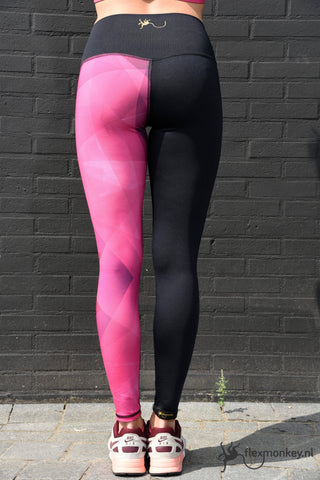 Flexmonkey Legging for kids 'Pink' - Flexmonkey Polewear