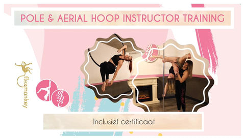 Instructor training Aerial Hoop - de basis. Onderdeel van Flexmonkey workshops & opleidingsplekken - Flexmonkey Polewear