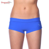 Dragonfly Nikita paaldans short polefitness yoga hotyoga licht blauw light blue