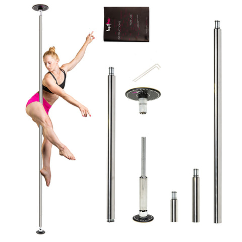 LUPIT POLE DIAMOND G2 - CHROME incl verzending - Flexmonkey Polewear