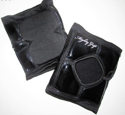 Mighty grip sticky kneepads original - Flexmonkey Polewear