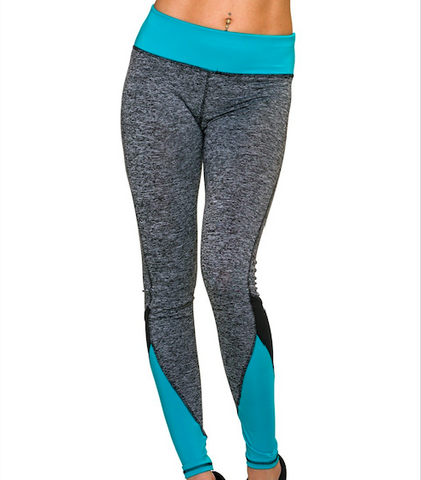 Legging Intens Baby Blue - Flexmonkey Polewear