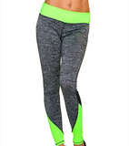 flour legging yoga pants fitness leggings sport lang full length groen green