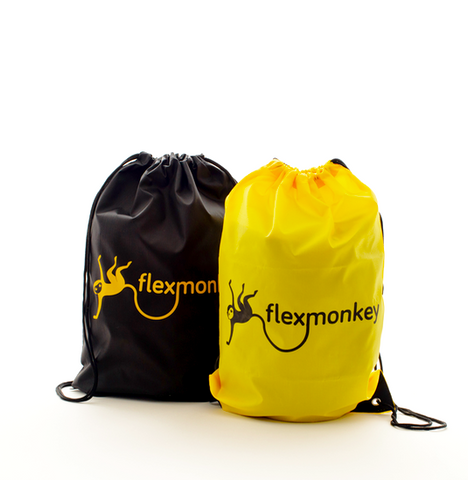 Flexmonkey drawstring bag tas sporttas