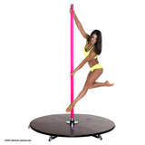 mobiel paaldanspodium polestage Xpole Xstage light 45mm silicone shipping within EU en Nederland