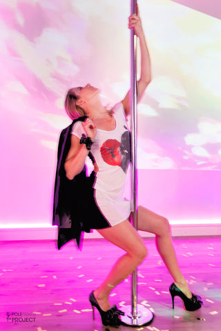 Diva dress paaldans jurkje - PoleFashion - Flexmonkey Polewear
