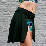 Flexmonkey Poledance skirt short 'Black' - Flexmonkey Polewear