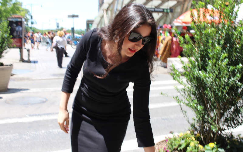 Our interview with Abeer Pamuk, Humanitarian, Syrian, and Fashionista