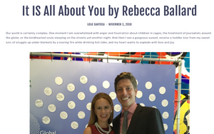 As seen in the Fair Trade Fashion Show Blog: It IS All About You by Rebecca Ballard