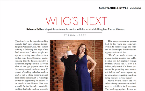 As Seen In Washington Life: Men & Women of Substance & Style