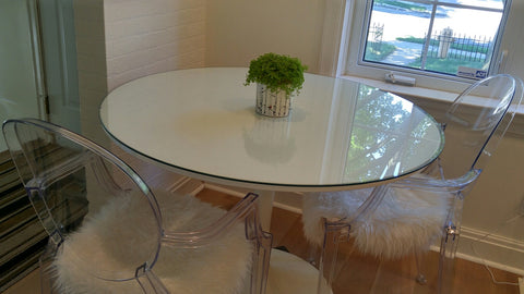 Round Retro Table