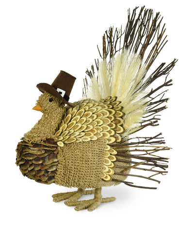 Thanksgiving Decorative Pilgrim Turkey