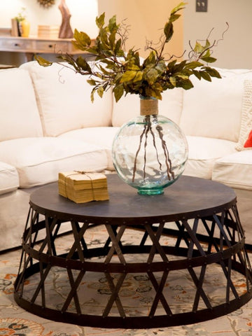 Upside Down Coffee Table - Adley & Company Inc.