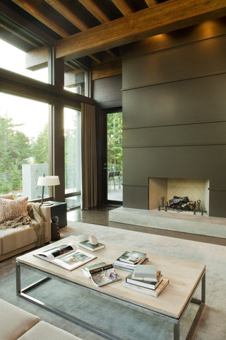 Vancouver Style Home Interior - Adley & Company Inc.