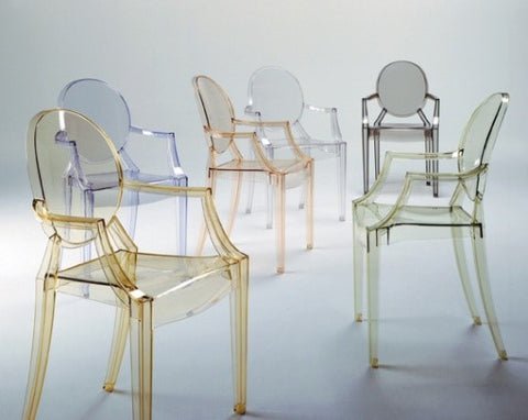 Philippe Starck Ghost Chairs - Adley & Company Inc.