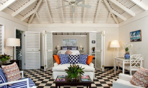 Caribbean Style Beach House - Adley & Company Inc.