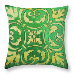 Green & Gold Cushion