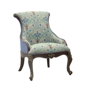 French Upholstered Accent Chair