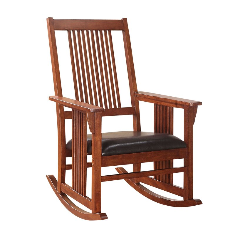 Chillin' Wood Rocking Chair - Adley & Company Inc.