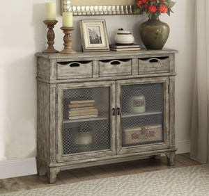 Three Drawer Rustic Console Cabinet,cabinet,Adley & Company Inc.