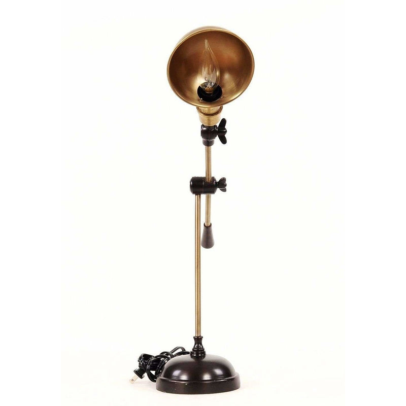 Brushed Brass Task Table Lamp,lamp,Adley & Company Inc.