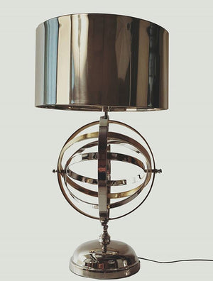 Metal Armillary Style Table Lamp,table lamp,Adley & Company Inc.