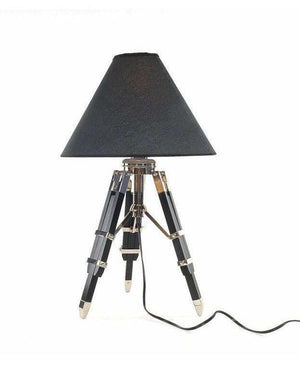 Nautical Inspired Tripod Lamp,table lamp,Adley & Company Inc.