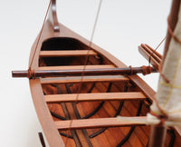 Hawaiian Outrigger Model Canoe