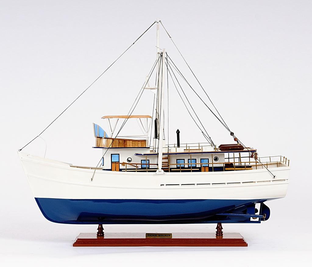 Dickie Walker Model Boat,model sailboat,Adley & Company Inc.