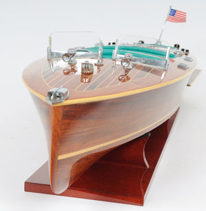 Chris Craft Triple Cockpit Model Boat,model boat,Adley & Company Inc.
