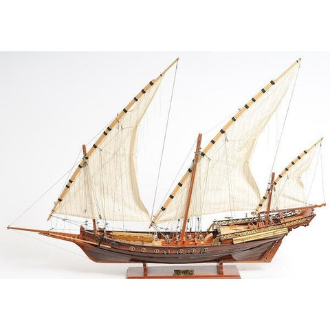 Xebec Pirate Ship, Model Boat
