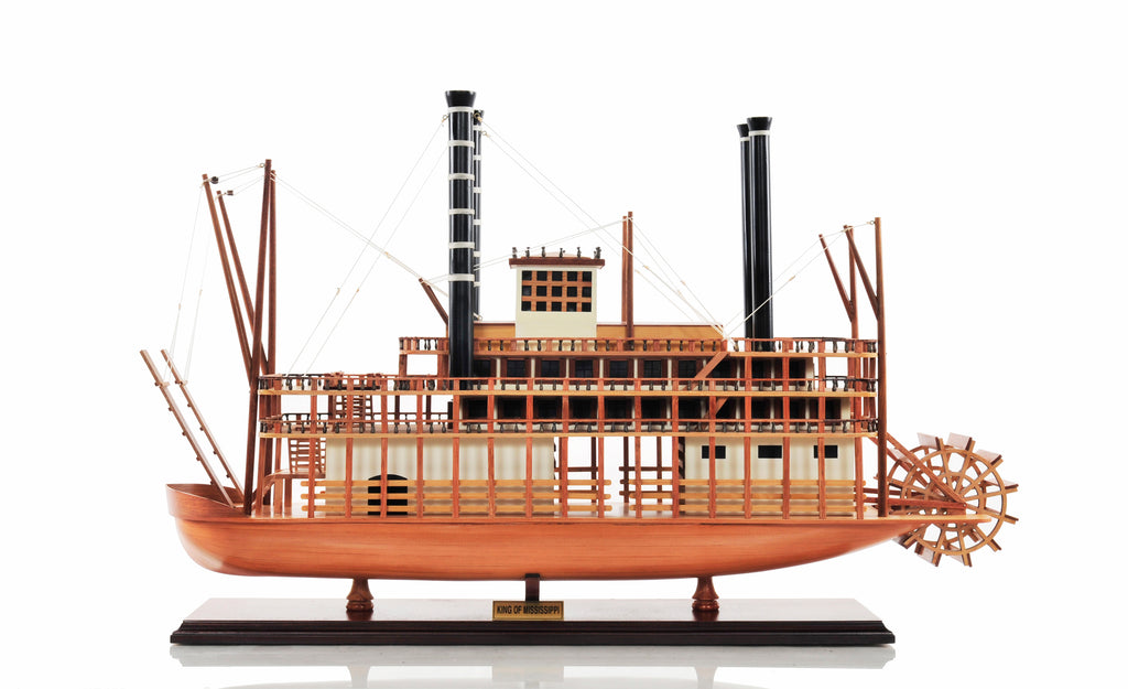 The King of Mississippi Model Steam Boat