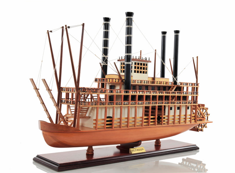 The King of Mississippi Model Steam Boat,model boat,Adley & Company Inc.