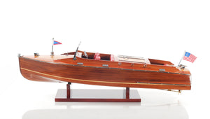 Chris Craft Runabout Model Boat,model boat,Adley & Company Inc.