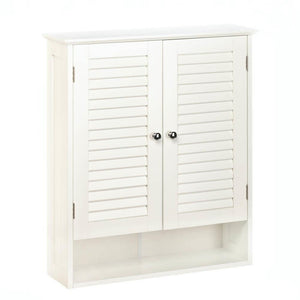 Nantucket Bathroom Wall Cabinet, White