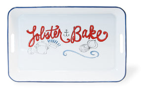 Lobster Bake Metal Serving Tray
