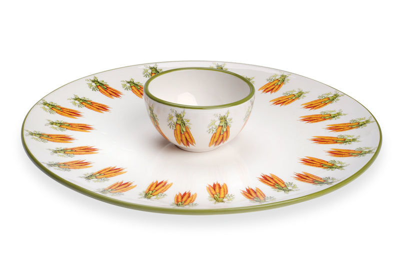 Carrots Crudite Server and Platter Set,serving platter,Adley & Company Inc.