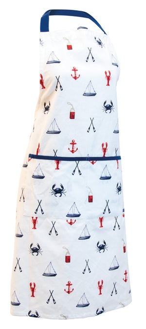 Nautical Kitchen Full Apron,apron,Adley & Company Inc.