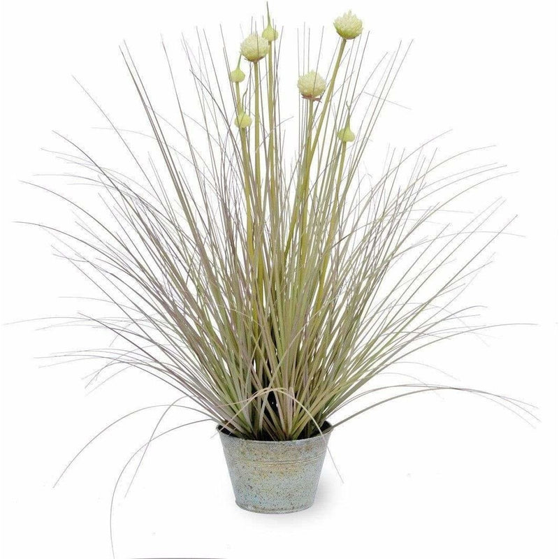 Tall Artificial Ornamental Onion Grass,artificial plant,Adley & Company Inc.