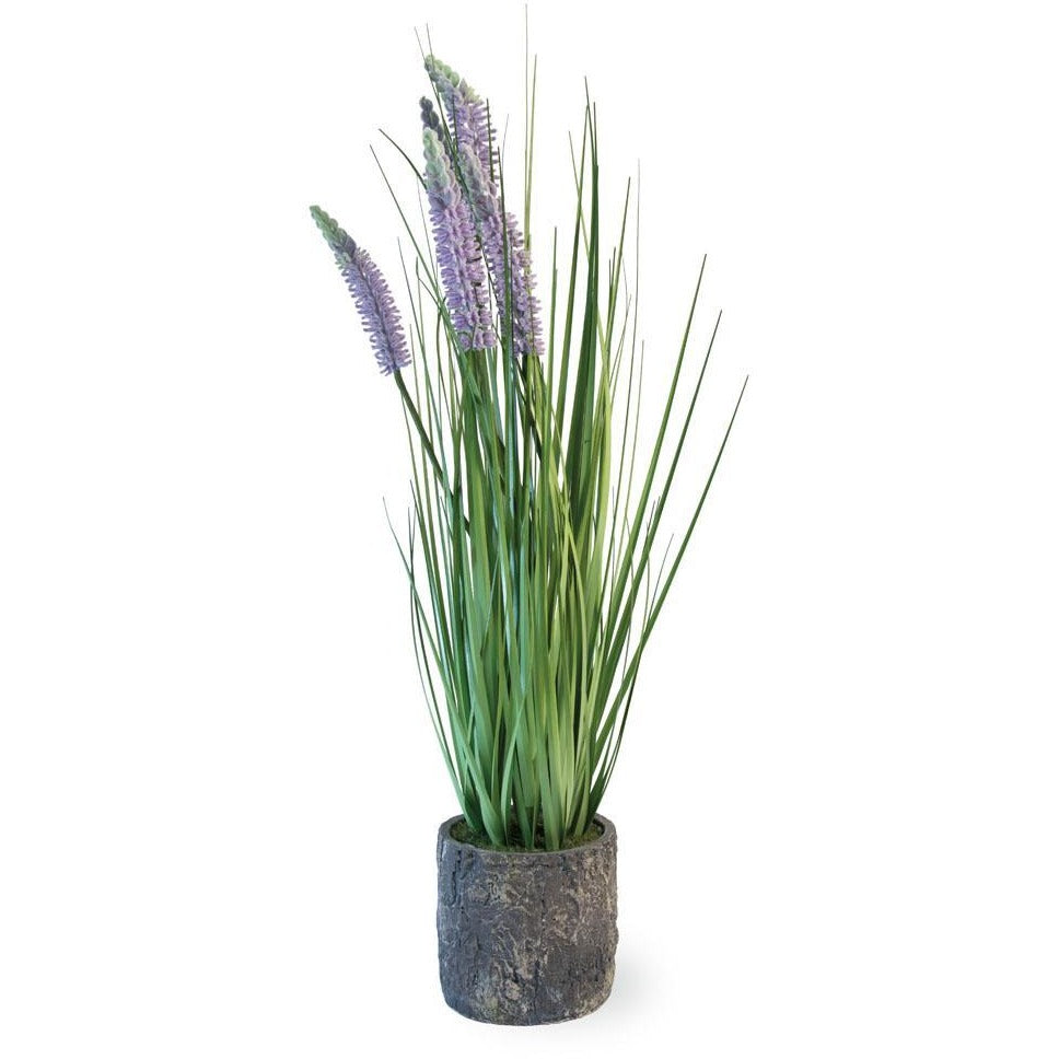 Artificial Lavender Grass Plant,artificial plant,Adley & Company Inc.