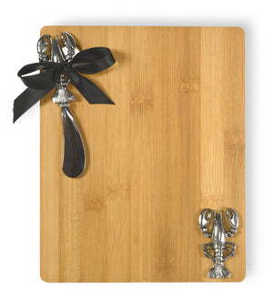 Lobster Cutting Board and Spreader Set,cutting board,Adley & Company Inc.