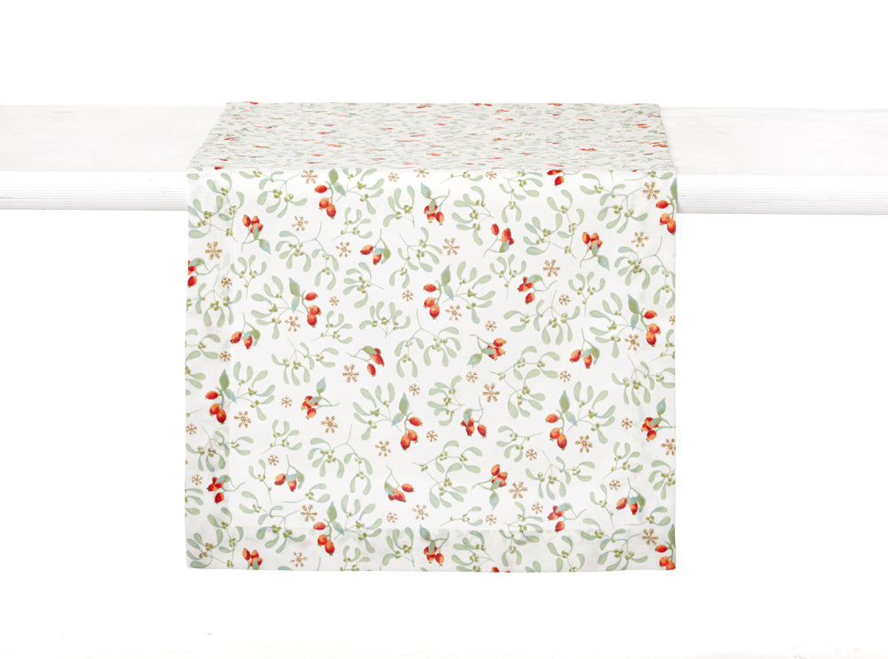 Hariette Floral Rosehip Table Runner