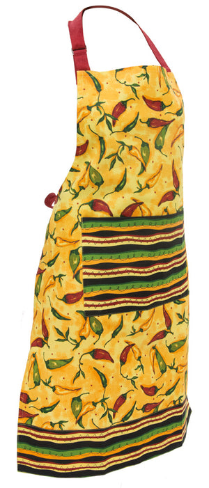 Pepper Toss Cotton Full Apron,apron,Adley & Company Inc.