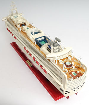 Diamond Princess Model Cruise Ship - Adley & Company Inc.