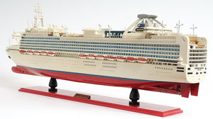 Diamond Princess Model Cruise Ship,model ship,Adley & Company Inc.