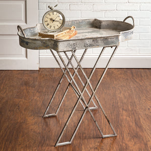 Butler Metal Tray Table Stand,tray table,Adley & Company Inc.