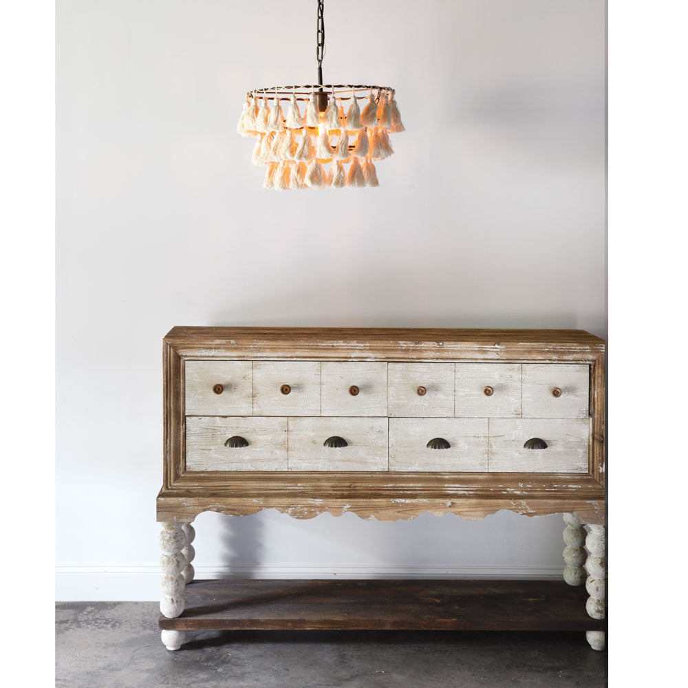 St. Germain Tassel Pendant Light Chandelier